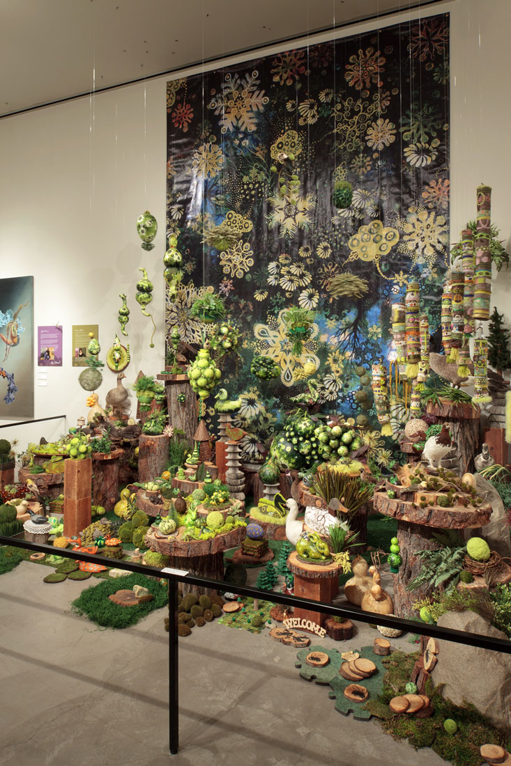 Wondrous Strange: In the Pocket of Nature, Turtle Bay Installation